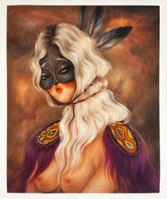 Load image into Gallery viewer, MISS VAN 'White Hair Muse' Giclée Print