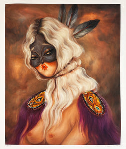MISS VAN 'White Hair Muse' Giclée Print