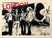 Load image into Gallery viewer, MR. BRAINWASH 'Stairway to London' (Led Zeppelin) FRAMED - Signari Gallery
