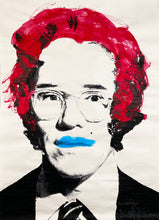 Load image into Gallery viewer, MR. BRAINWASH 'Andy Warhol' (red) Original Paster