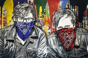 MR. BRAINWASH 'The Black Keys LA' SIGNED Offset Lithograph