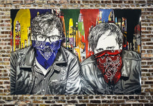 Load image into Gallery viewer, MR. BRAINWASH 'The Black Keys LA' SIGNED Offset Lithograph