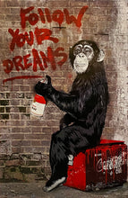 Load image into Gallery viewer, MR. BRAINWASH 'Follow Your Dreams' Offset Lithograph