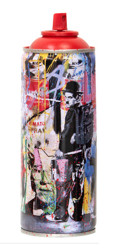 MR. BRAINWASH 'Just Kidding, 2020' (red) Spray Can