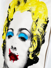 Load image into Gallery viewer, MR. BRAINWASH 'Happy Birthday Madonna' (yellow) Original Paster