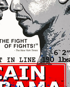 MR. BRAINWASH 'Obama vs. McCain' Hand-Finished Print
