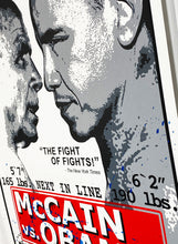 Load image into Gallery viewer, MR. BRAINWASH 'Obama vs. McCain' Hand-Finished Print