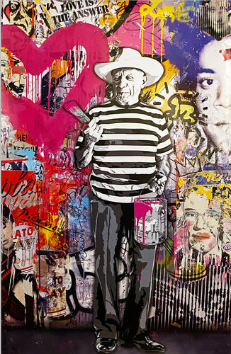 MR. BRAINWASH 'Picasso' Lithograph Print