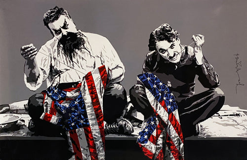 MR. BRAINWASH 'Recovery Plan' Offset Lithograph