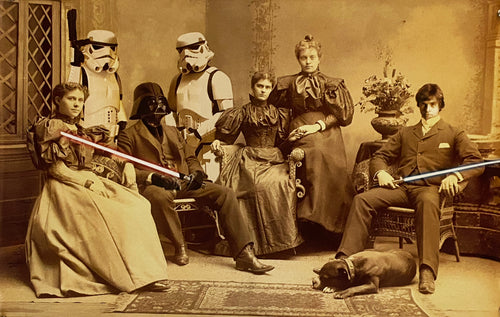 MR. BRAINWASH 'Star Wars Reunion' Offset Lithograph (1)
