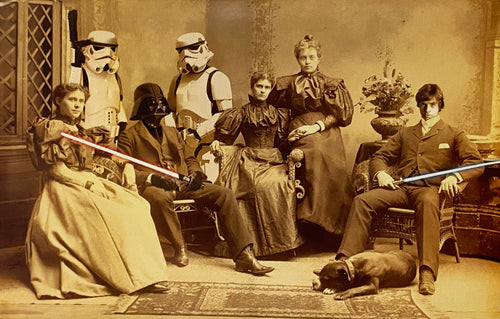 MR. BRAINWASH 'Star Wars Reunion' Offset Lithograph (2)