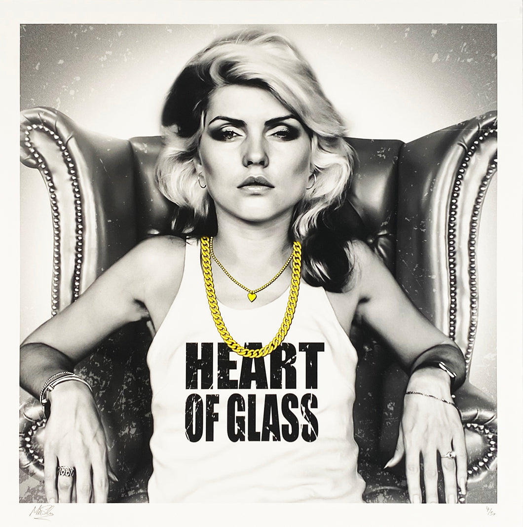 MR. SLY 'Heart of Glass' (Blondie) Giclée Print