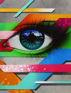 MY DOG SIGHS 'Looking Forward' Giclee Print w/Varnish Finish
