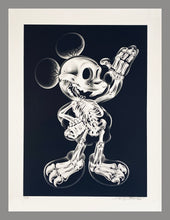 Load image into Gallery viewer, NEST 'X-Ray Mouse' Original Spray/Stencil on Paper