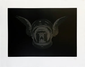 NICK WALKER 'Apish Angel' Screen Print w/Varnish Finish