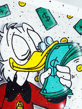 Load image into Gallery viewer, OKYES 'Smells Good' (Scrooge) Hand-Finished Giclée Print