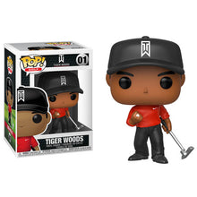 Load image into Gallery viewer, POP! x Funko 'Tiger Woods' (red shirt) Vinyl Figure