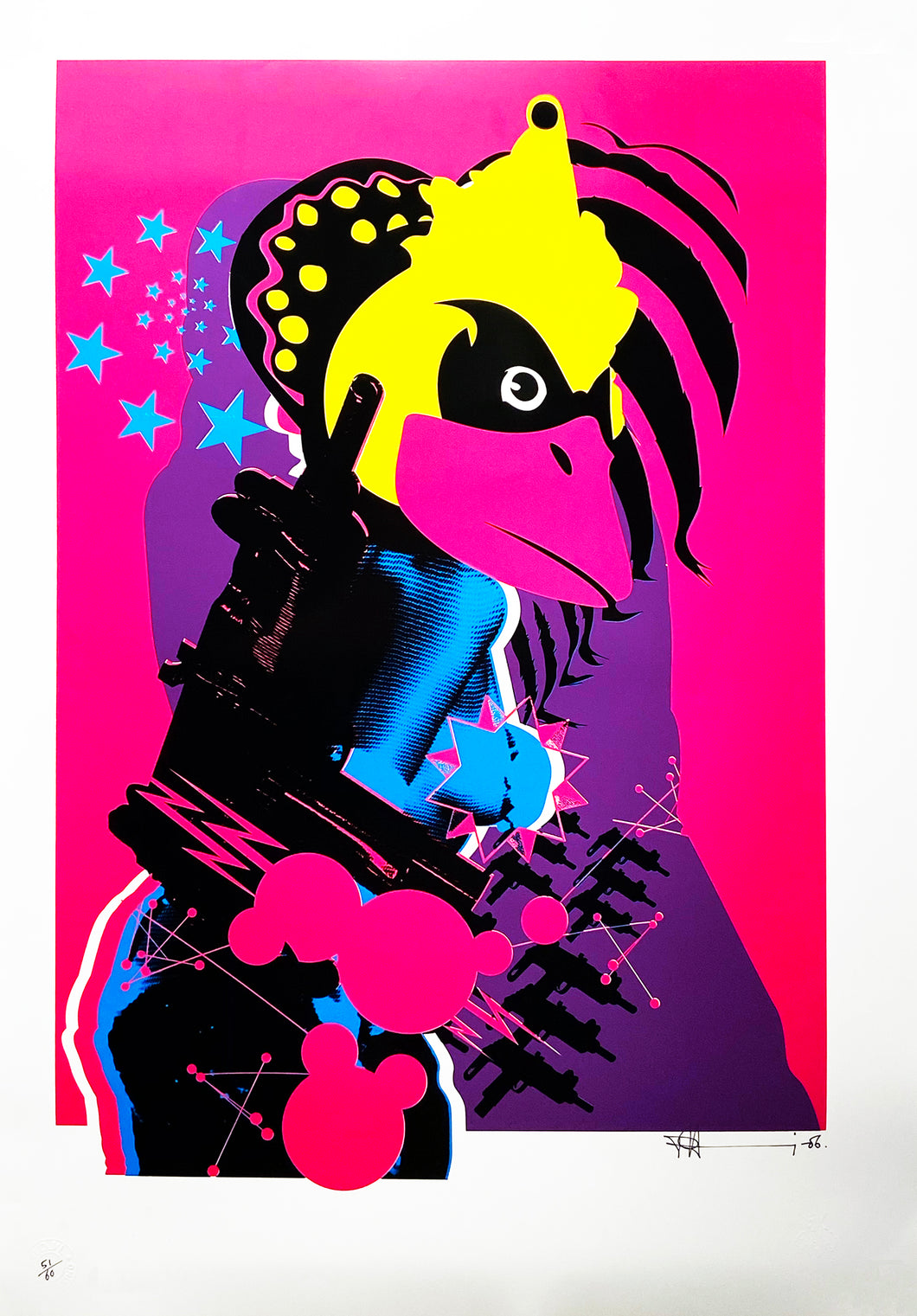 PAUL INSECT 'Sex Toy 1' Screen Print