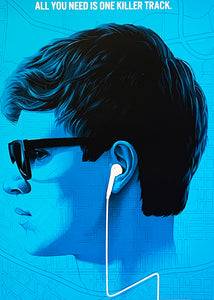 PHANTOM CITY CREATIVE 'Baby Driver' (variant) Screen Print