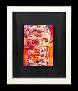 PICHIAVO 'Orphical Hymn to Mislata Poseidon' Framed Postcard