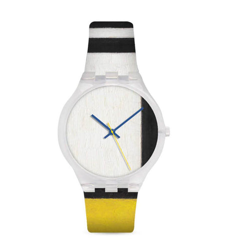 PIET MONDRIAN x MOMA 'Composition in Red, Yellow and Blue' Watch w/Case