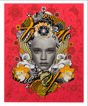 Load image into Gallery viewer, PREFAB 77 'Lady of Rage' (red) Screen Print - Signari Gallery