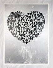 Load image into Gallery viewer, PREFAB 77 'Waiting Kills: A Royal Love Story' (silver) Screen Print