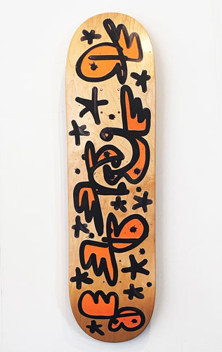 PURE EVIL 'COVID-19 Panic Buy' Original Skateboard Deck