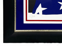 Load image into Gallery viewer, PURE EVIL 'Star-Spangled Warhol' Screen Print Framed