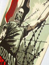 Load image into Gallery viewer, RNST 'Sudan in Revolt' Silkscreen Print - Signari Gallery
