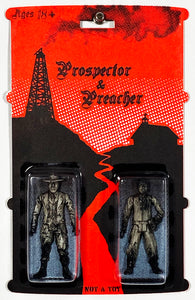 RYCA 'Prospector & Preacher' (Not-A-Toy) Carded Action Figure - Signari Gallery