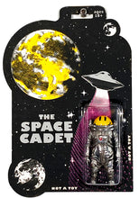 Load image into Gallery viewer, RYCA 'Space Cadet' Action Figure + Original Drawing Framed