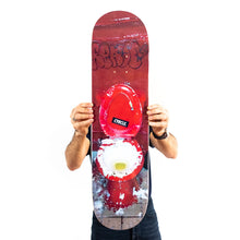 Load image into Gallery viewer, RABI of CYRCLE 'Peace Out My Guy' Skateboard Deck