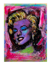 Load image into Gallery viewer, RENE GAGNON 'Jagged Tears Marilyn' HPM on Hardboard - Signari Gallery