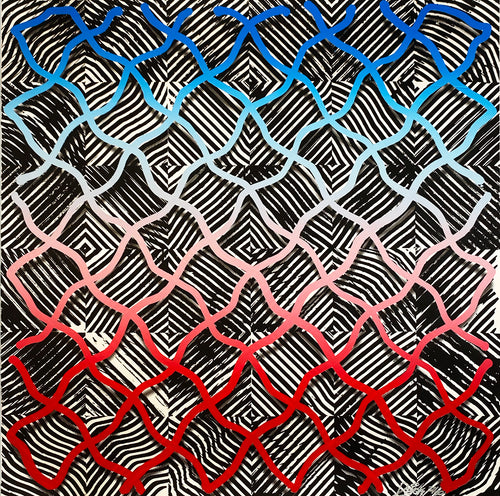 REVOK 'LSC (I)' 12-Color Screen Print