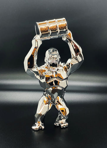 RICHARD ORLINSKI 'Kong Oil Spirit' (Silver) Resin Art Figure