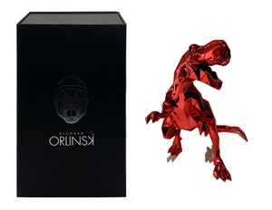 RICHARD ORLINSKI 'T-Rex Spirit' (red) Resin Art Figure