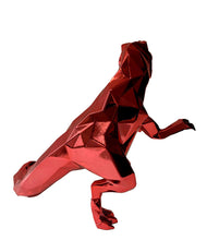 Load image into Gallery viewer, RICHARD ORLINSKI 'T-Rex Spirit' (red) Resin Art Figure
