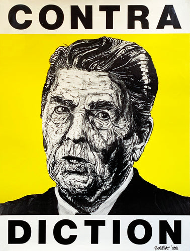 ROBBIE CONAL 'Contradiction' (Reagan) Screen Print - Signari Gallery