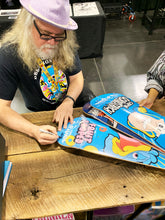 Load image into Gallery viewer, RON ENGLISH 'Fruit Looped' SIGNED Skateboard Deck - Signari Gallery