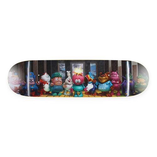 RON ENGLISH 'Last Fat Breakfast' Skateboard Deck - Signari Gallery
