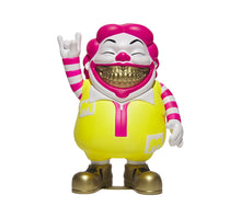 Load image into Gallery viewer, RON ENGLISH 'Neon MC Supersized Grin' Vinyl Art Figure