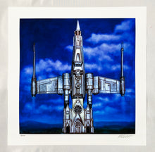 Load image into Gallery viewer, RON ENGLISH 'Church of Star Wars' Archival Pigment Print