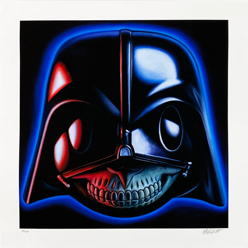 RON ENGLISH 'Vader Grin' Archival Pigment Print