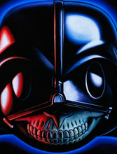 Load image into Gallery viewer, RON ENGLISH 'Vader Grin' Archival Pigment Print