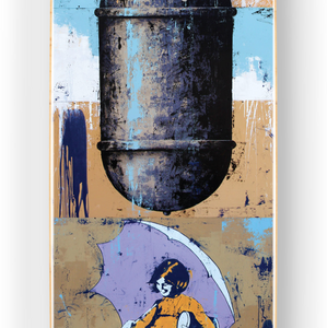BASK 'When it Rains it Pours' Skateboard Deck - Signari Gallery