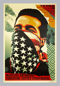 SHEPARD FAIREY 'American Rage' Offset Lithograph