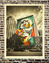 Load image into Gallery viewer, SHEPARD FAIREY x SANDRA CHEVRIER 'The Beauty of Justice & Equality' Screen Print (235/500)