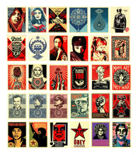 Load image into Gallery viewer, SHEPARD FAIREY 'Facing the Giant' 30th Ann. Sticker Pack
