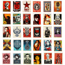 Load image into Gallery viewer, SHEPARD FAIREY 'Facing the Giant' Postcard Box Set